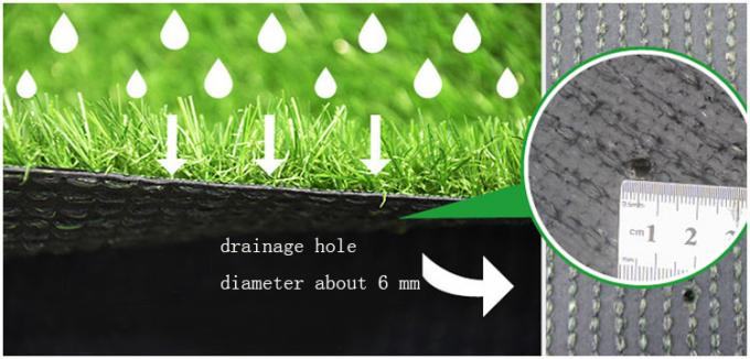 Durable Pet Artificial Turf , Plastic Artificial Grass For Pets UV Resistance