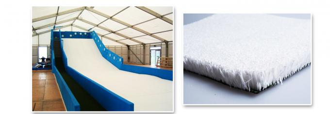 Real Snow Experience Artificial Ski Slope 22mm Synthetic Artificial Ski Surface