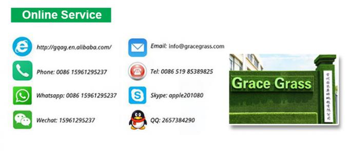 UV Resistant Artificial Grass For Cricket Pitch 6600 Density with Short Yarn