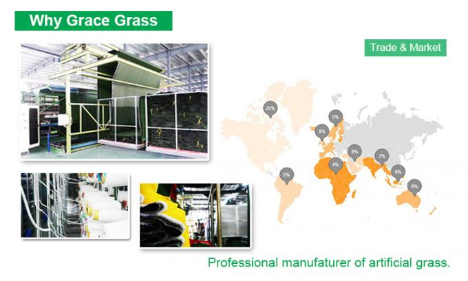 PP Compound Synthetic Basketball Court Turf 10mm Artificial Grass For Basketball