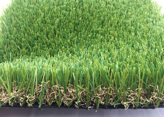 China Real Looking Luxury Artificial Grass Garden UV Resistant 40mm SGS Approved supplier