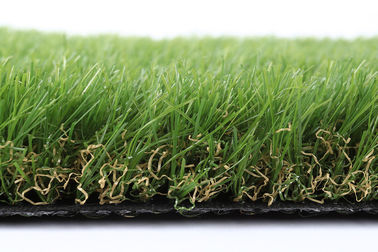 China PE PP Softness Friendly Pet Artificial grass 25mm Waterproof For Dogs 4 Tone supplier