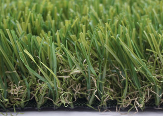 China 45mm 13600 Dtex Landscaping Artificial Grass Noise Reduction For Playgrounds supplier