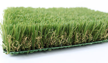 China SGS Approved Lead Free Artificial Grass For Hotels And Motels 38mm UV Resistant supplier