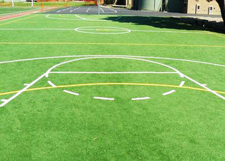 China Abrasion Resistance Synthetic Basketball Court Grass 15mm Sports Artificial Grass supplier