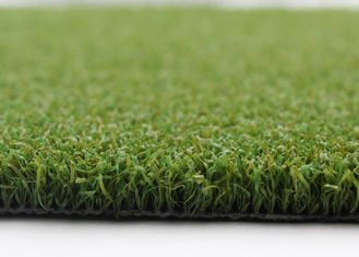 China 15mm Green Artificial Grass For Basketball Pitch Outdoor Sports Curled Shape supplier