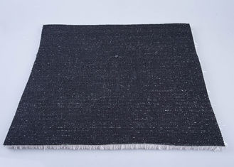 China Anti - UV Black Artificial Grass For Ski 20mm PE Fire Resistant Hard Wearing supplier