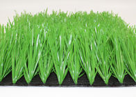 50mm L Stem Shape Synthetic Grass For Soccer Fields Durable Light Green