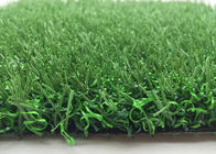 China Dark Green Syntetic Non Infill Artificial Grass For Soccer With PE Stem Fiber distributor