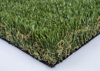 China Green S Shape Luxury Artificial Lawn Grass 50mm Non Glossy For Homes Yard factory