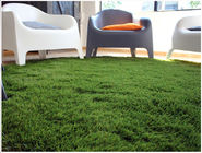 China 25mm Non Abrasive Landscaping Artificial Grass Natural Looking Fake Grass For Office factory