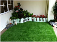 China Stem Shape Synthetic Lawn For Landscaping 30mm 14700 Tufts / Sqm UV Resistant factory