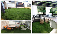 China U Shape Y7 Landscaping Artificial Grass Synthetic 40MM 4 Tone Safe And Durable factory