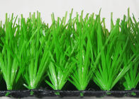 China Green High Density Football Artificial Grass Sand And Rubber Infill Custom factory