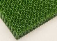 China 20mm Plastic Artificial Ski Surface For Outdoor Skiing Slope White / Green factory