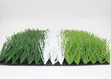High Density 50mm Soccer Field Artificial Turf Non - Abrasive UV Resistance