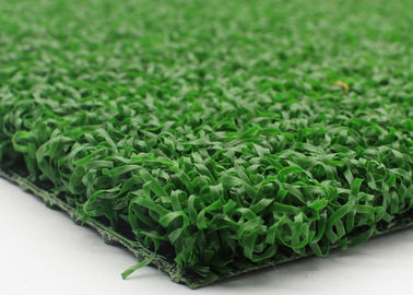 China Artificial Plastic Grass Field Hockey Turf With Curled Yarn Army Green Color factory
