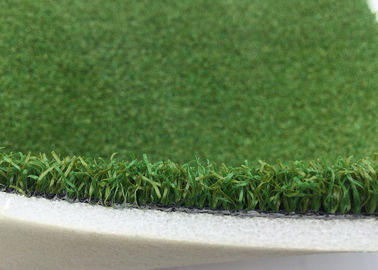 China 10mm Natural Golf Artificial Turf Green Curled Yarn Golf Synthetic Grass factory