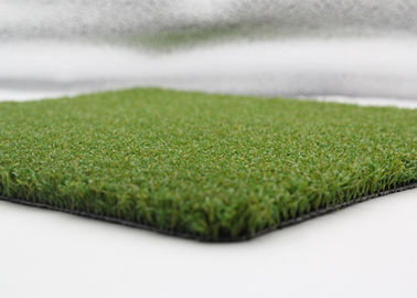 China Fake Grass Synthetic Basketball Court / Softball Court With PP Curled Yarn factory