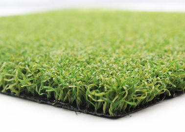 Sports Artificial Grass Basketball Court 15mm 2 Tone S Shape Curled 6600 Dtex