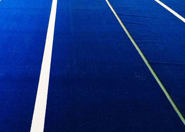 Custom Design Artificial Grass For Tennis Courts UV Resistant And Fire Resistant