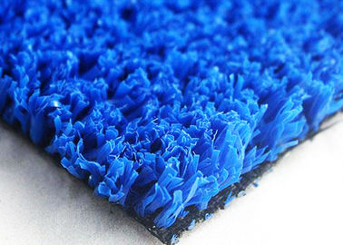 Slip Resistant Artificial Turf For Cricket Pitch PP Composite  Tennis / Basketball