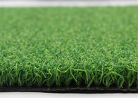 Green Croquet Lawn Sand And Rubber Infill 13 Mm Bicolor Sports Artificial Turf